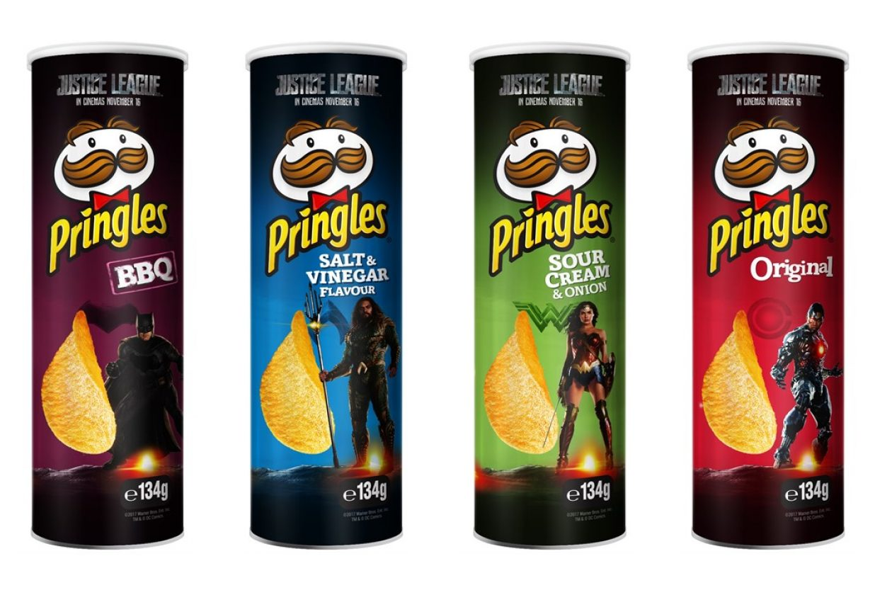 Pringles Unveils New-look Cans To Celebrate Release Of Justice ...