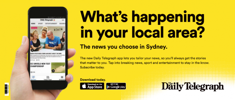 The Daily Telegraph ad