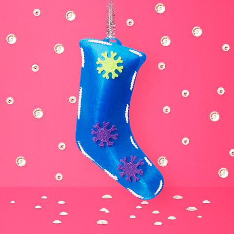 Muscular Dystrophy Australia Christmas ornament