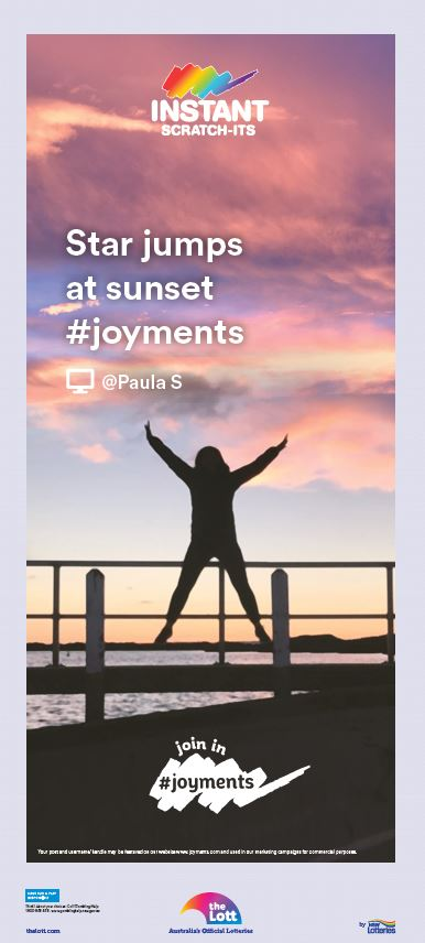 Instant Scratch-Its #Joyments campaign [2]