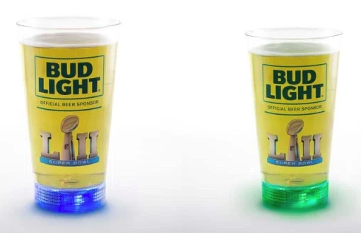 Bud Light Super Bowl cups