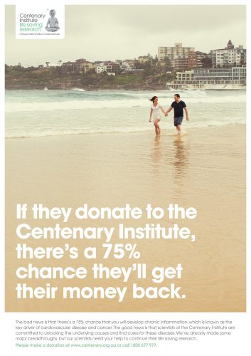 Centenary Institute's 'Beaches to Benches' campaign [2]