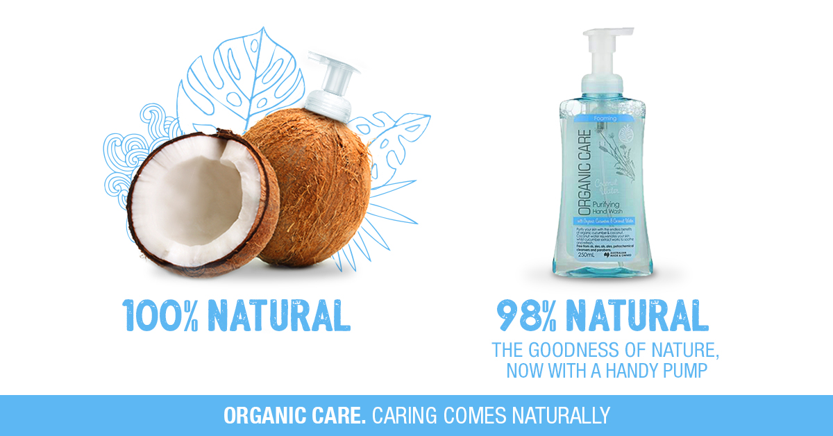 Organic Care Coconut Water Purifying Hand Wash