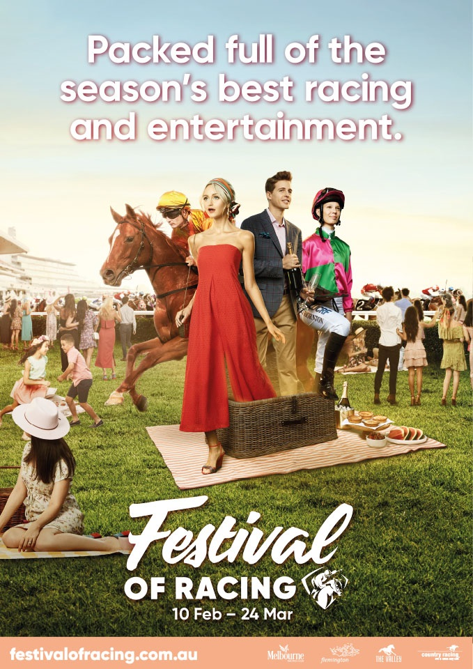 Racing Victoria's Festival of Racing campaign [2]