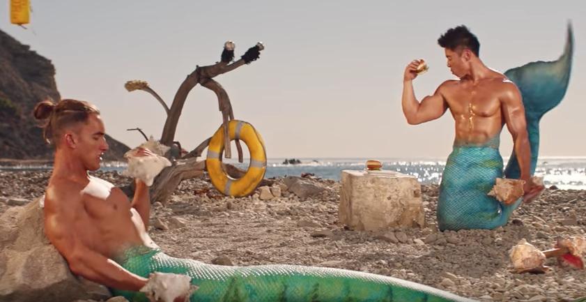 Buff Mermen Star In Bonkers Fish Fingers Campaign - B&T