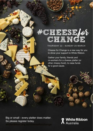 Cheese for Change poster