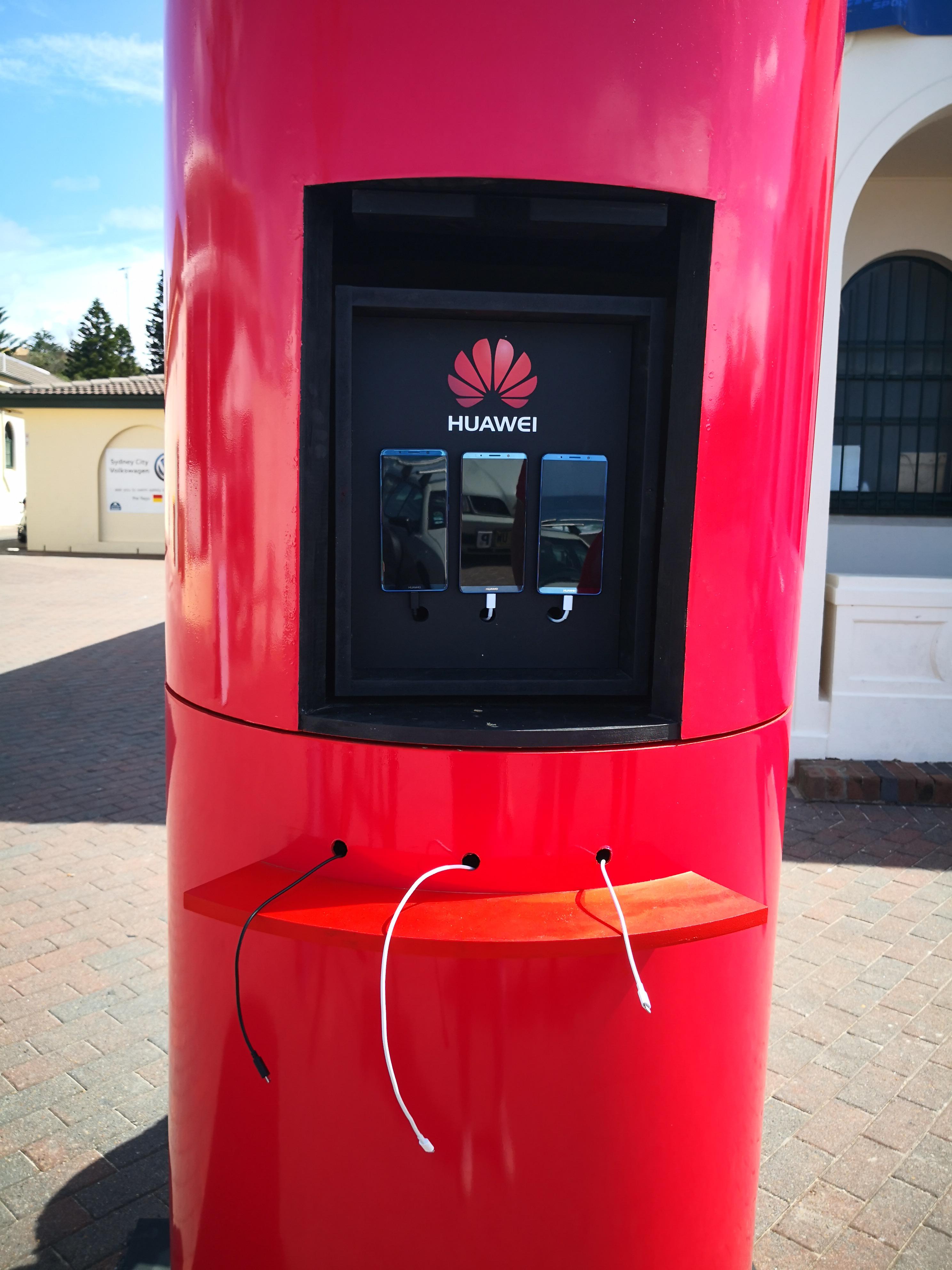 Huawei Australia - Battery Stunt (7)