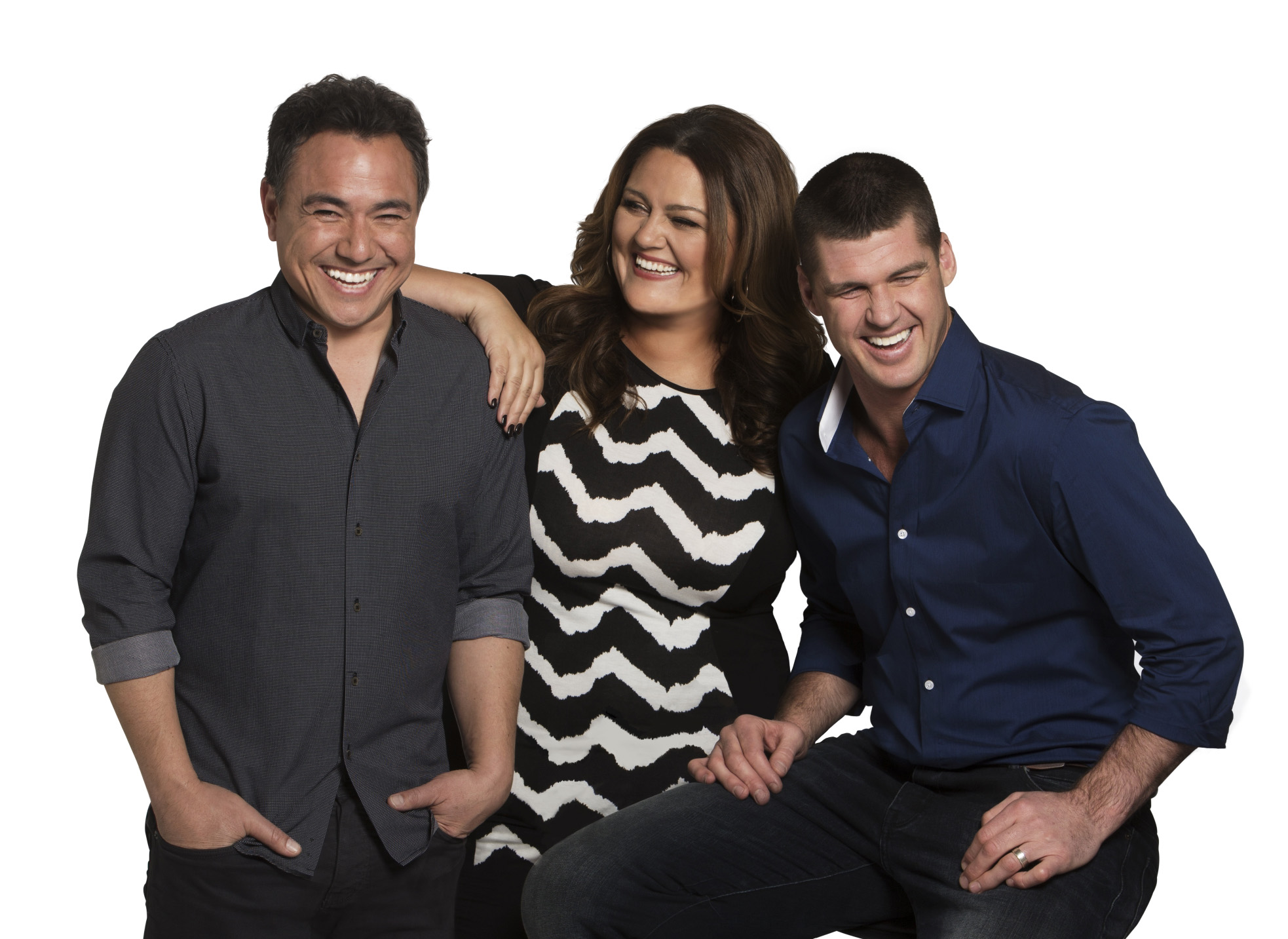 Nova 100's Chrissie, Sam & Browny
