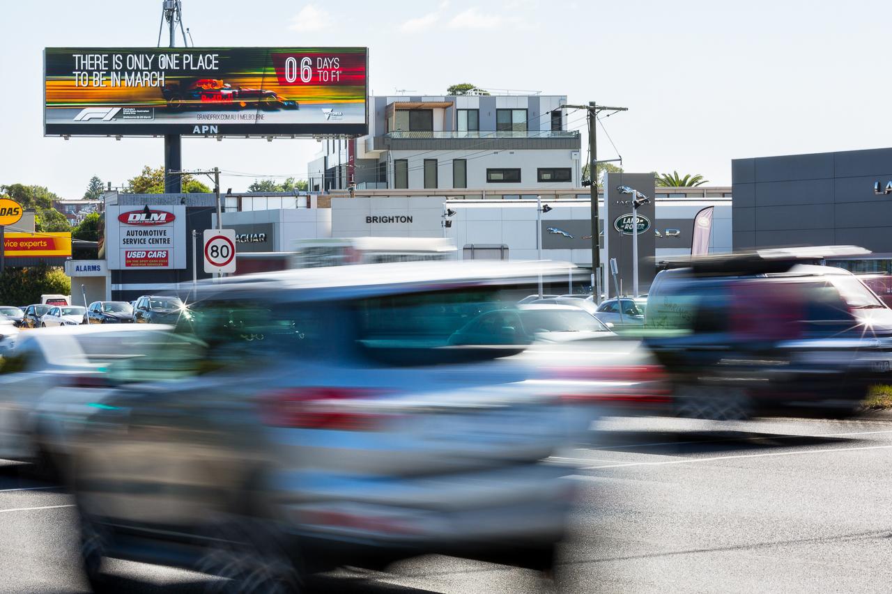 Posterscope F1 campaign