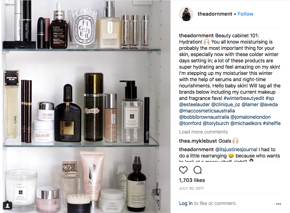 Estée Lauder Companies influencer marketing campaign