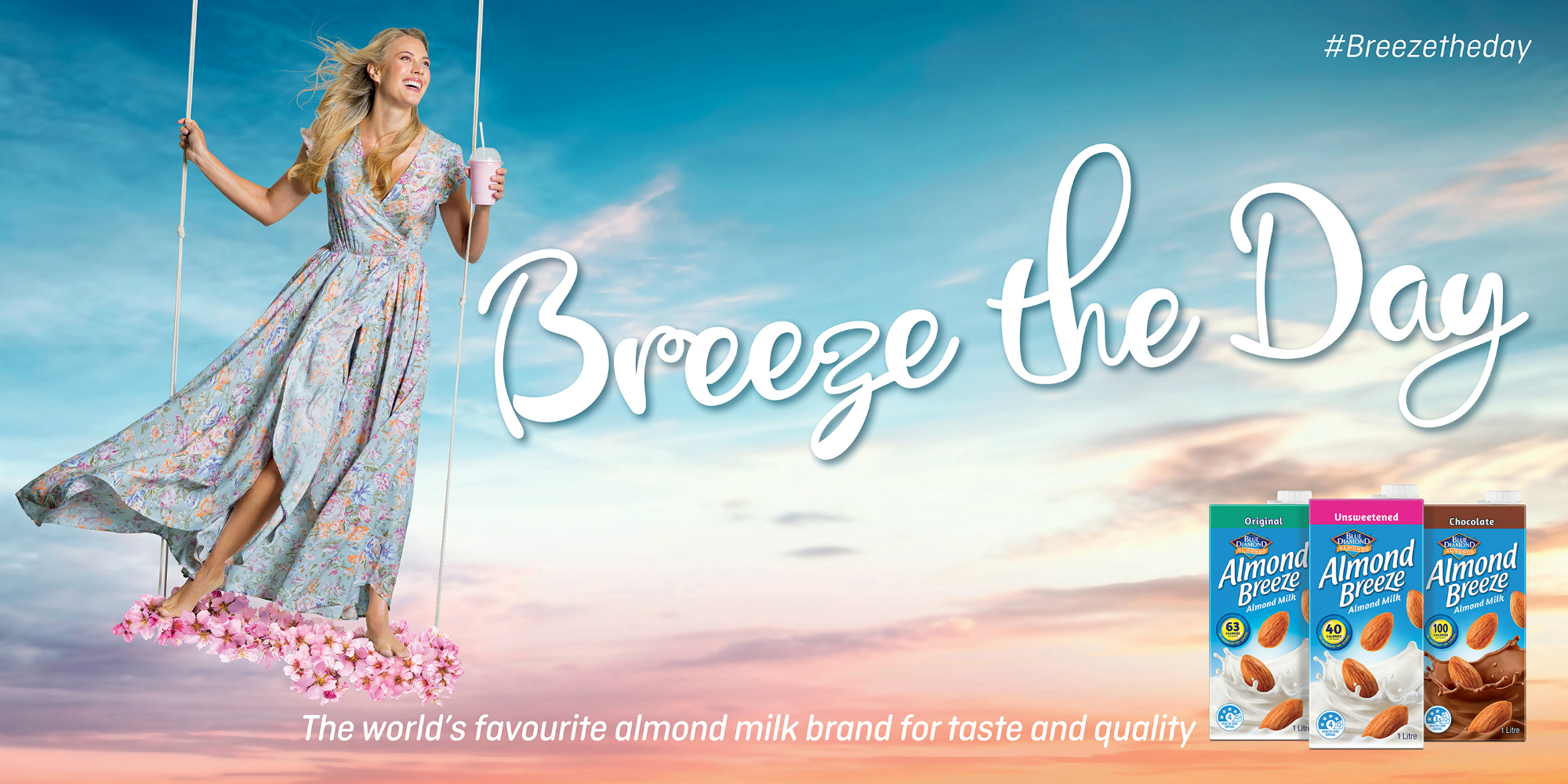 Almond Breeze campaign