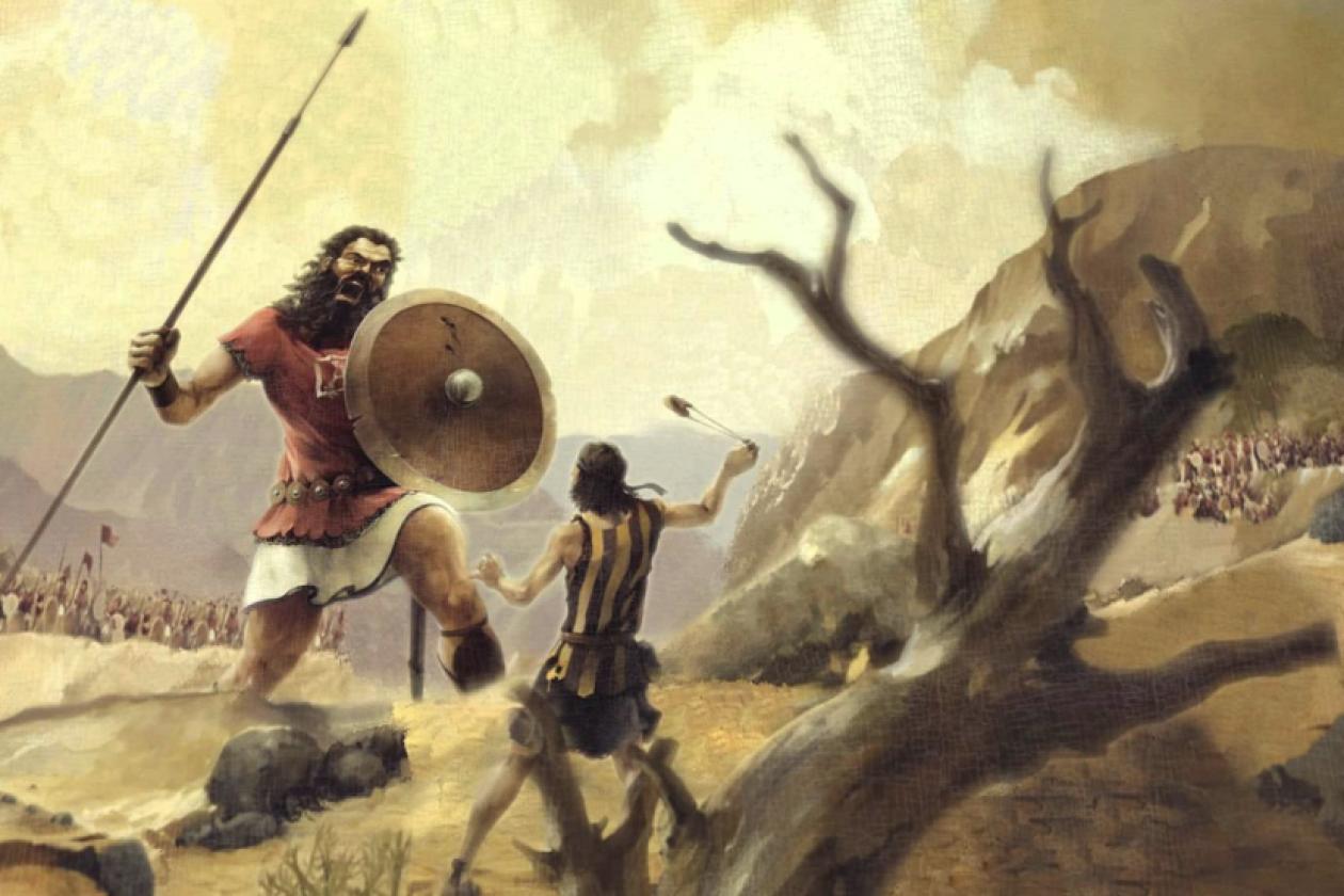Image result for david vs goliath