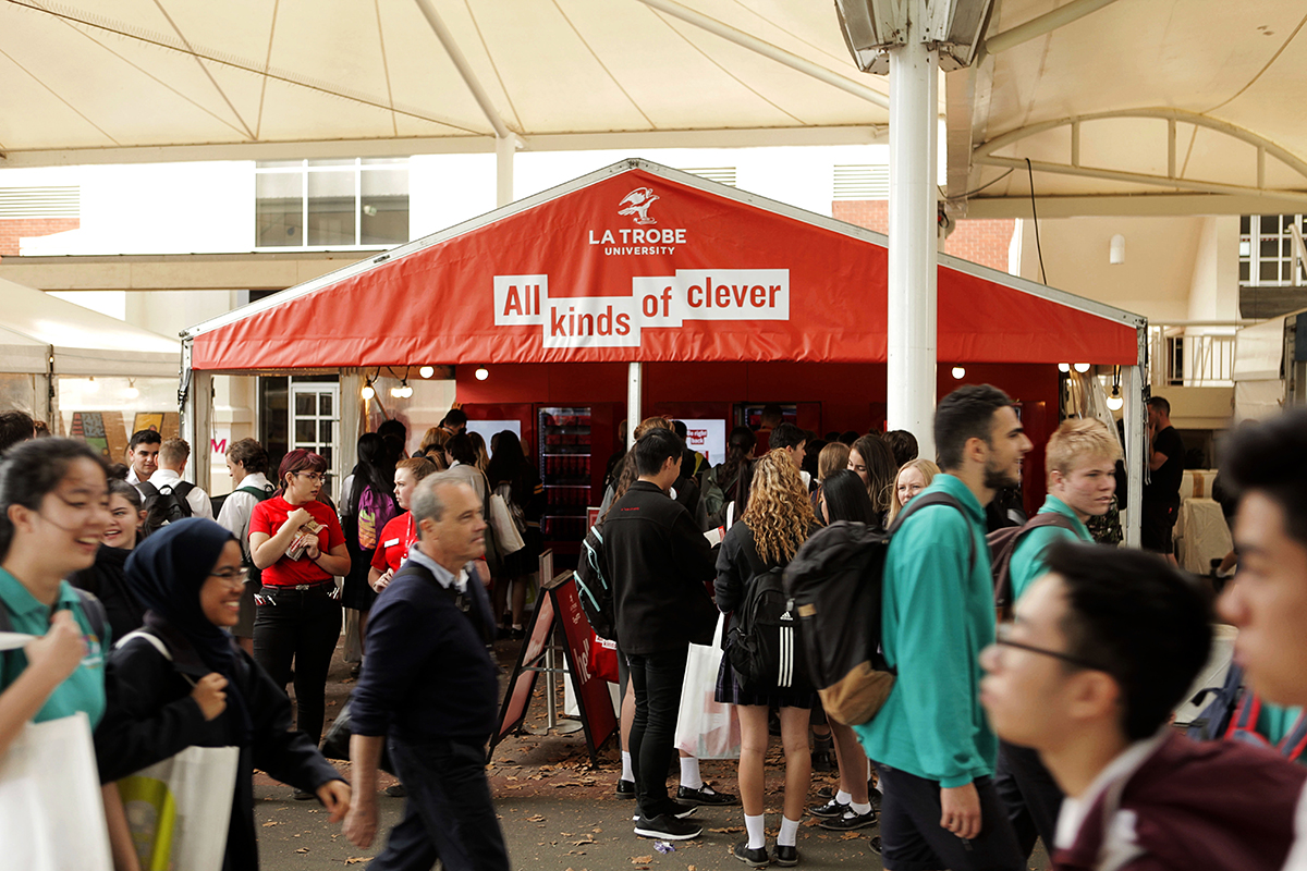 La Trobe University's 'Use your clever' activation [2]