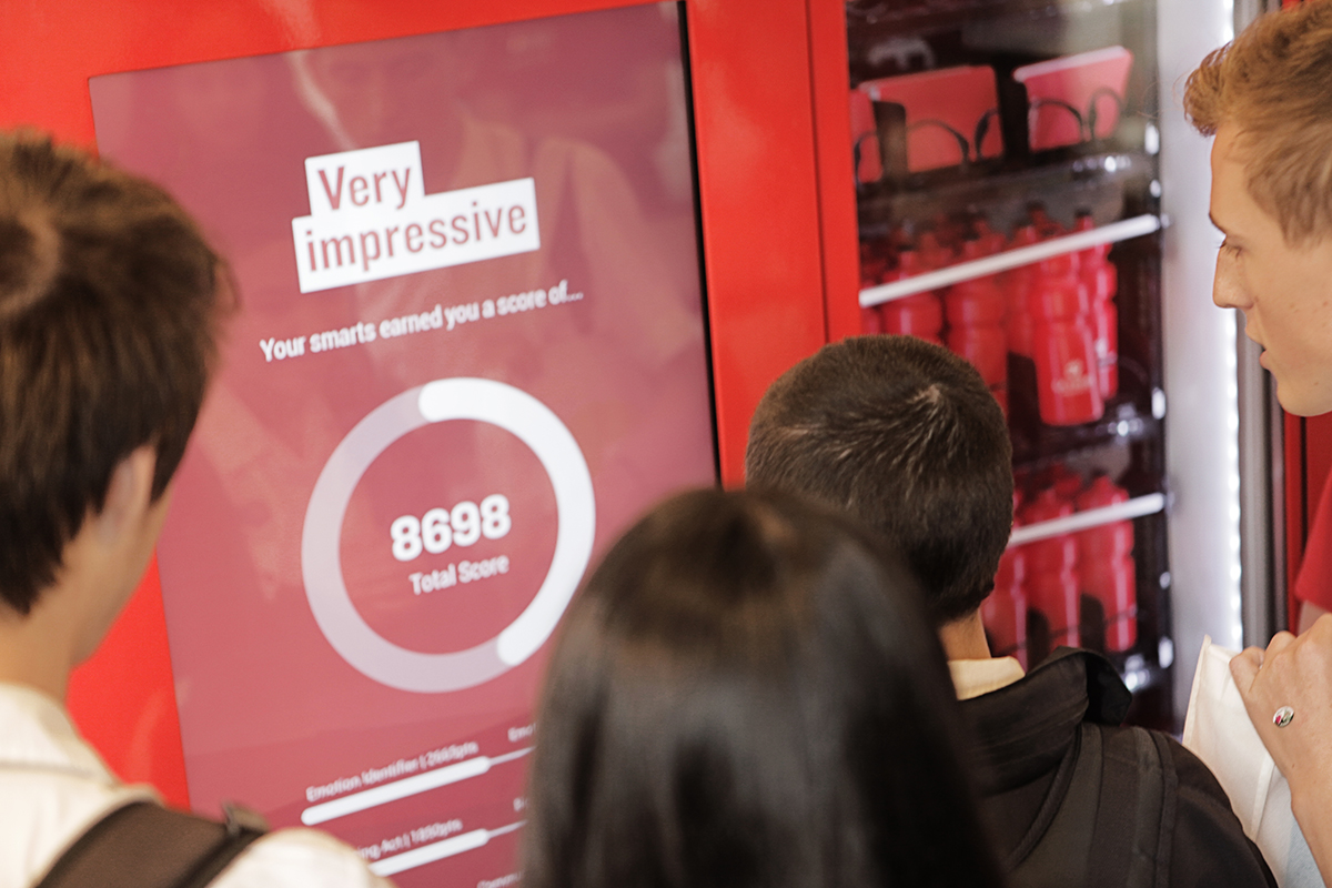 La Trobe University's 'Use your clever' activation [4]