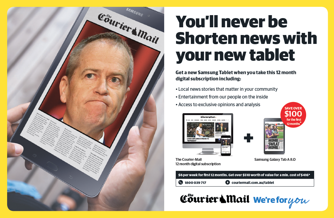 News Corp digital subscription campaign [5]
