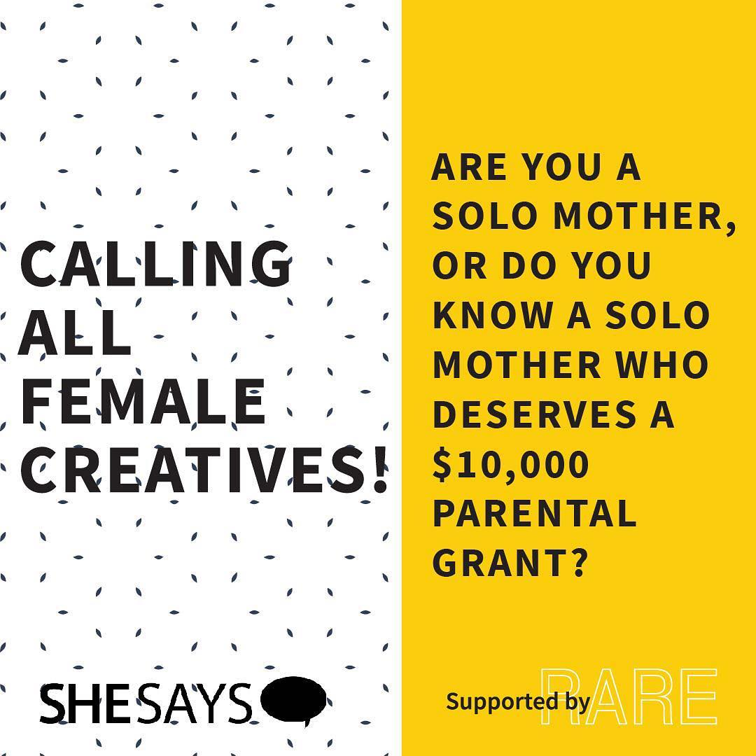SheSays Grants 3