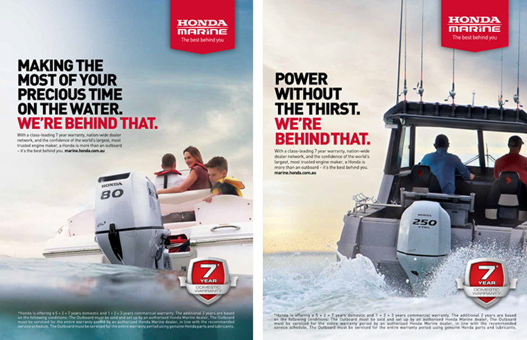 Honda Marine Unveils New Campaign Via Newly Appointed Agency 10 Feet