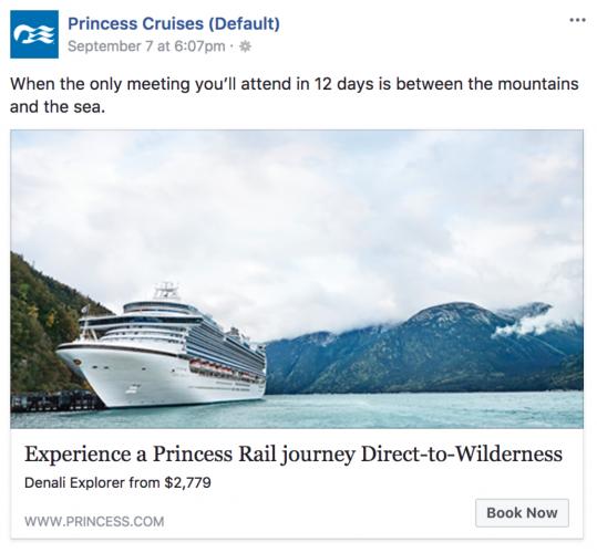Princess Cruises social campaign [1]