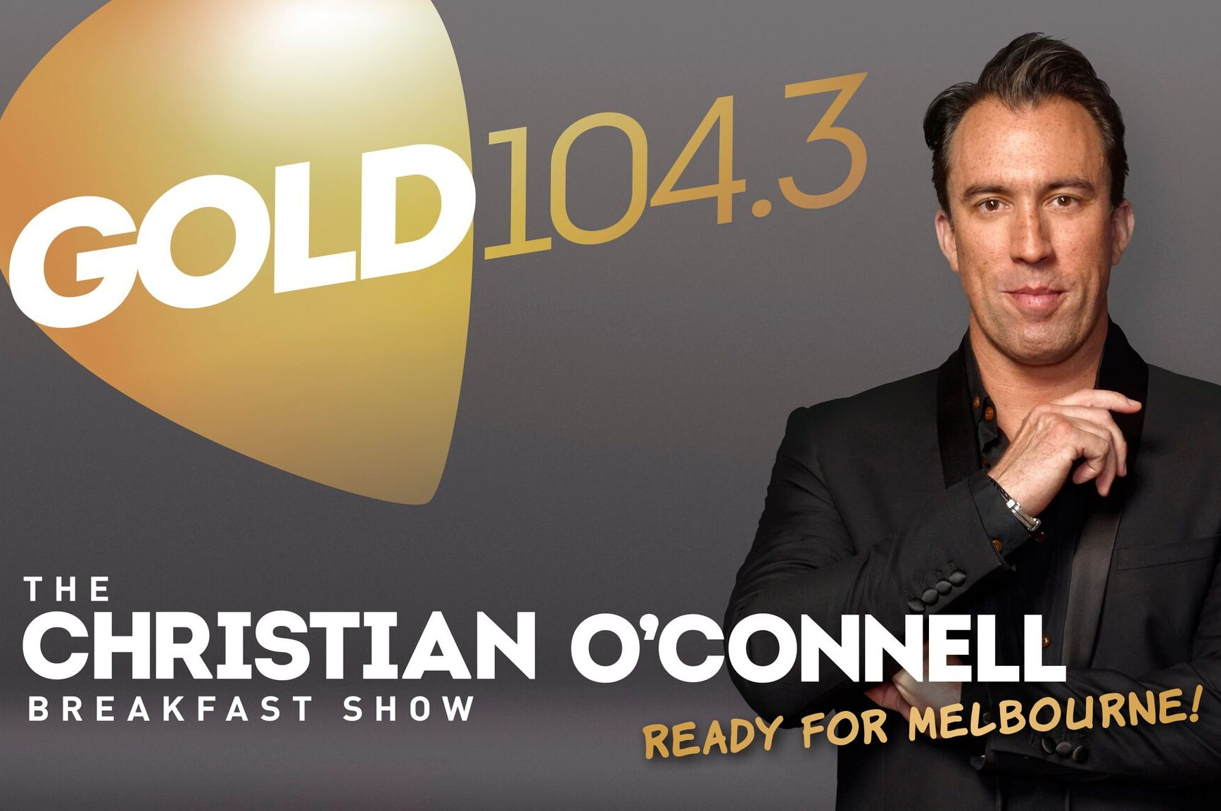 ARN Launches Ready For Melbourne Campaign For New Host Christian O