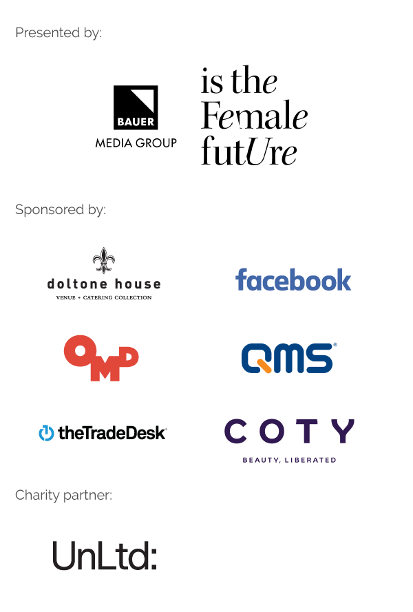 Women in Media sponsor block