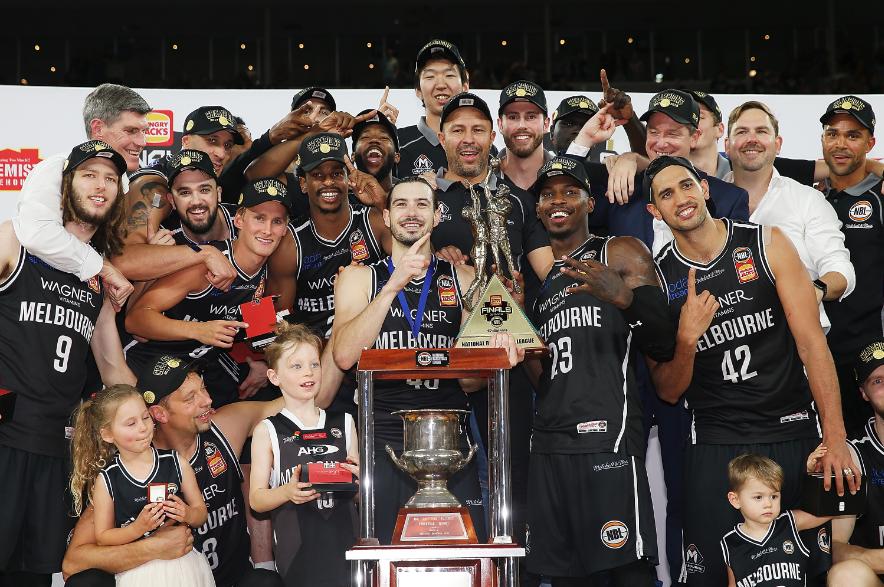 Melbourne United (NBL champions 2017-2018)