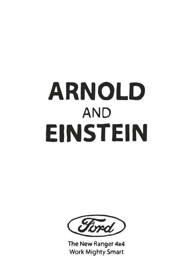 Arnold and Einstein (Shaun McFarlane)