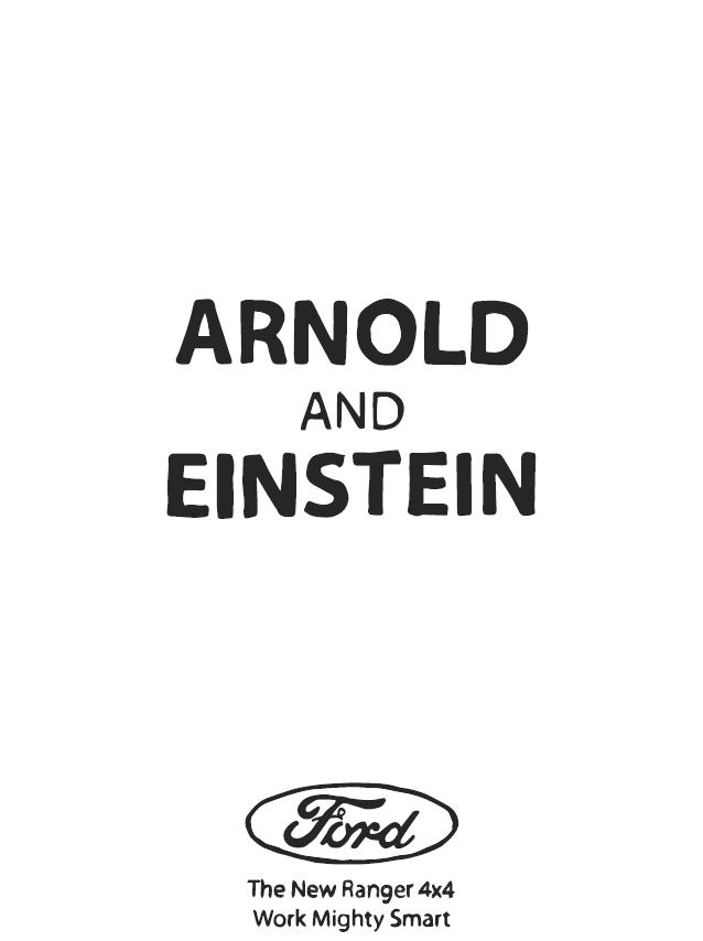 Arnold and Einstein (Shaun McFarlane)