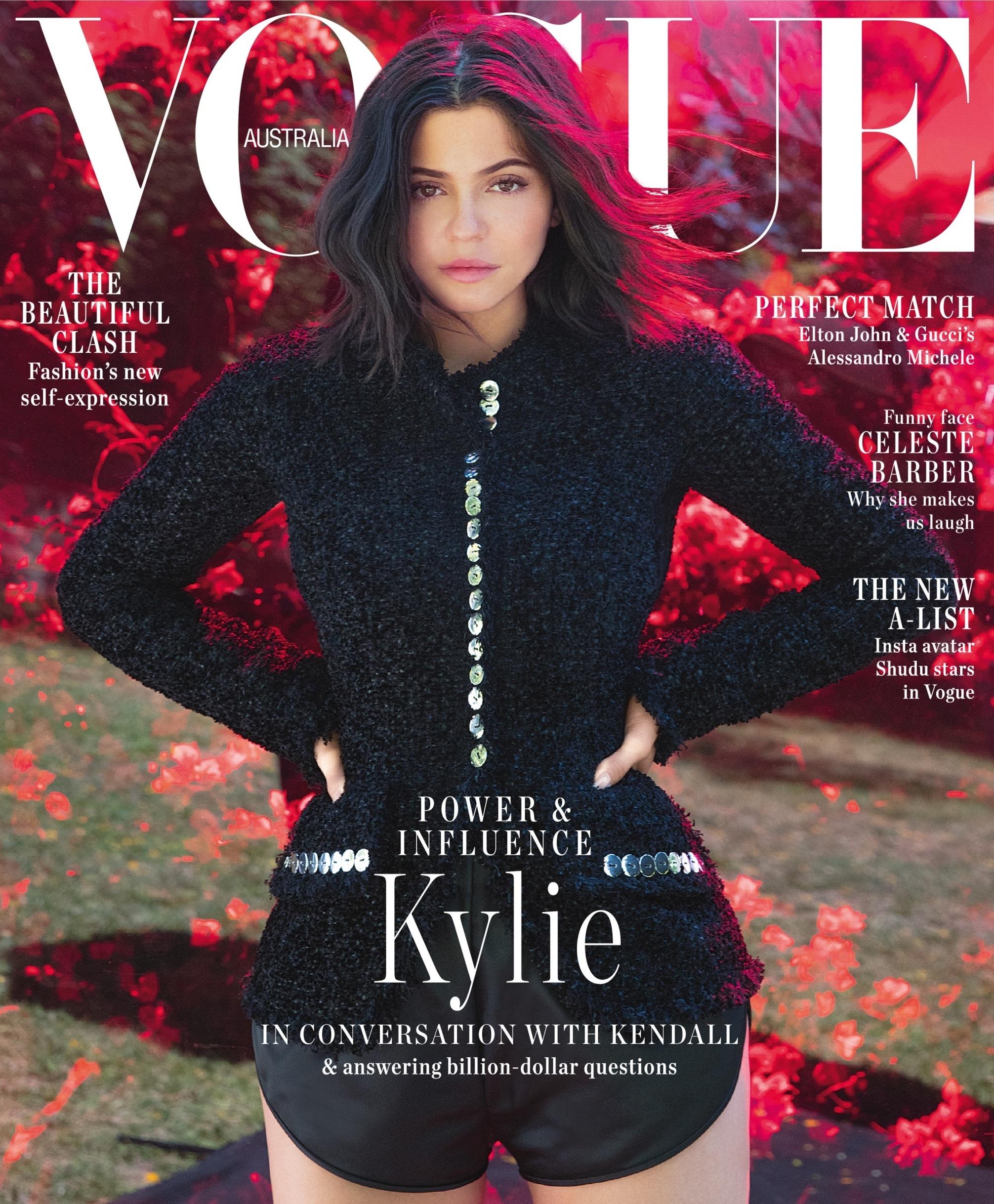 Vogue Cover: Vogue Australia Reprints September Issue