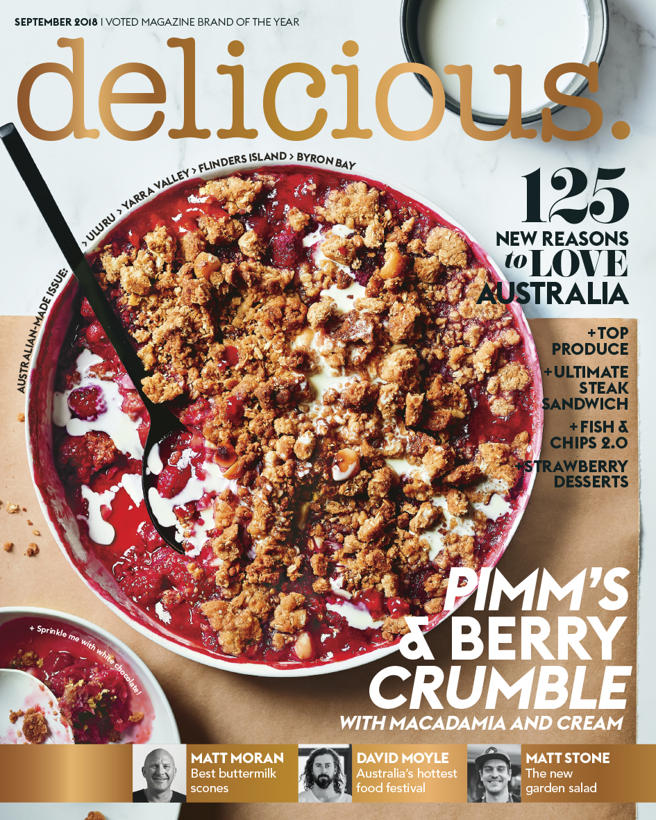 delicious. September 2018_COVER