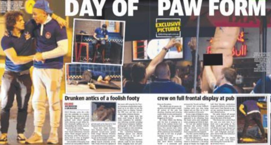 Daily Telegrpah article on Canterbury Bulldogs [2]