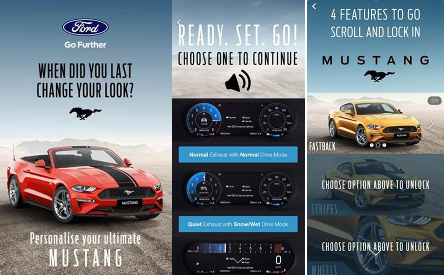 Ford Mustang campaign