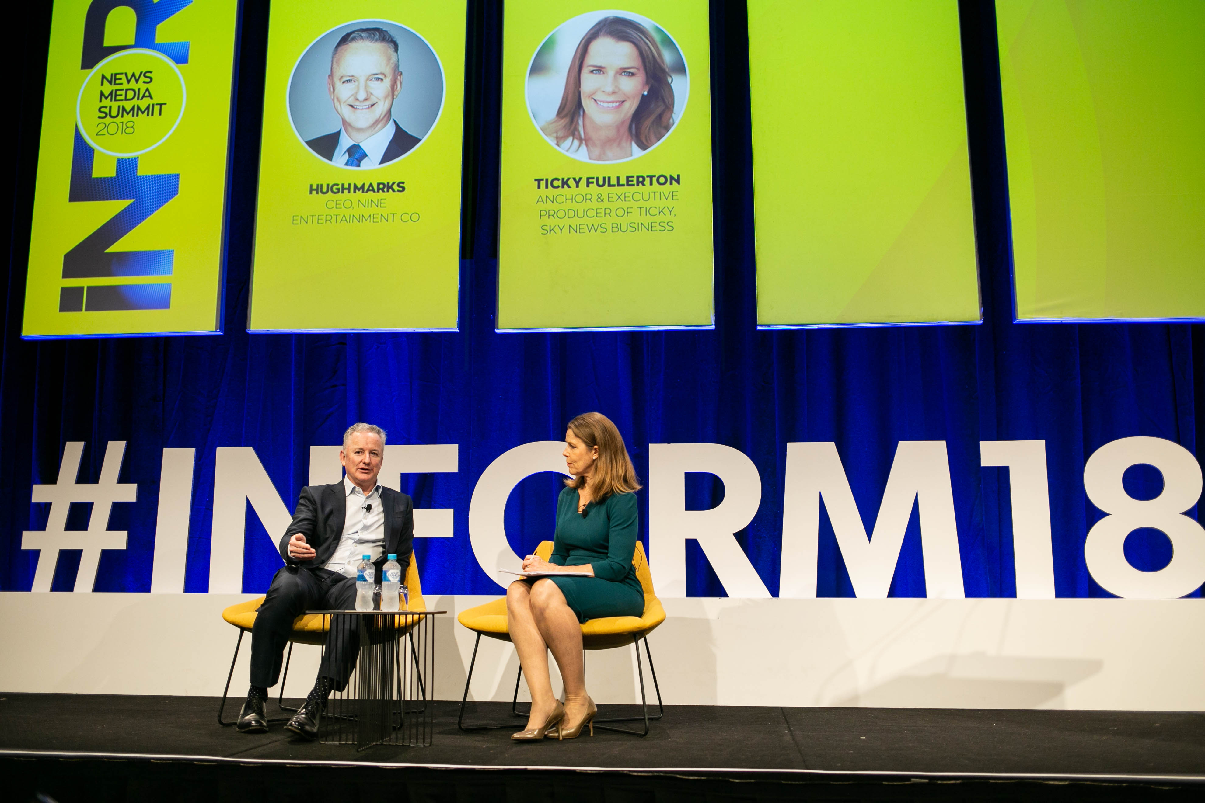 Nine CEO Hugh Marks at Inform Summit 2