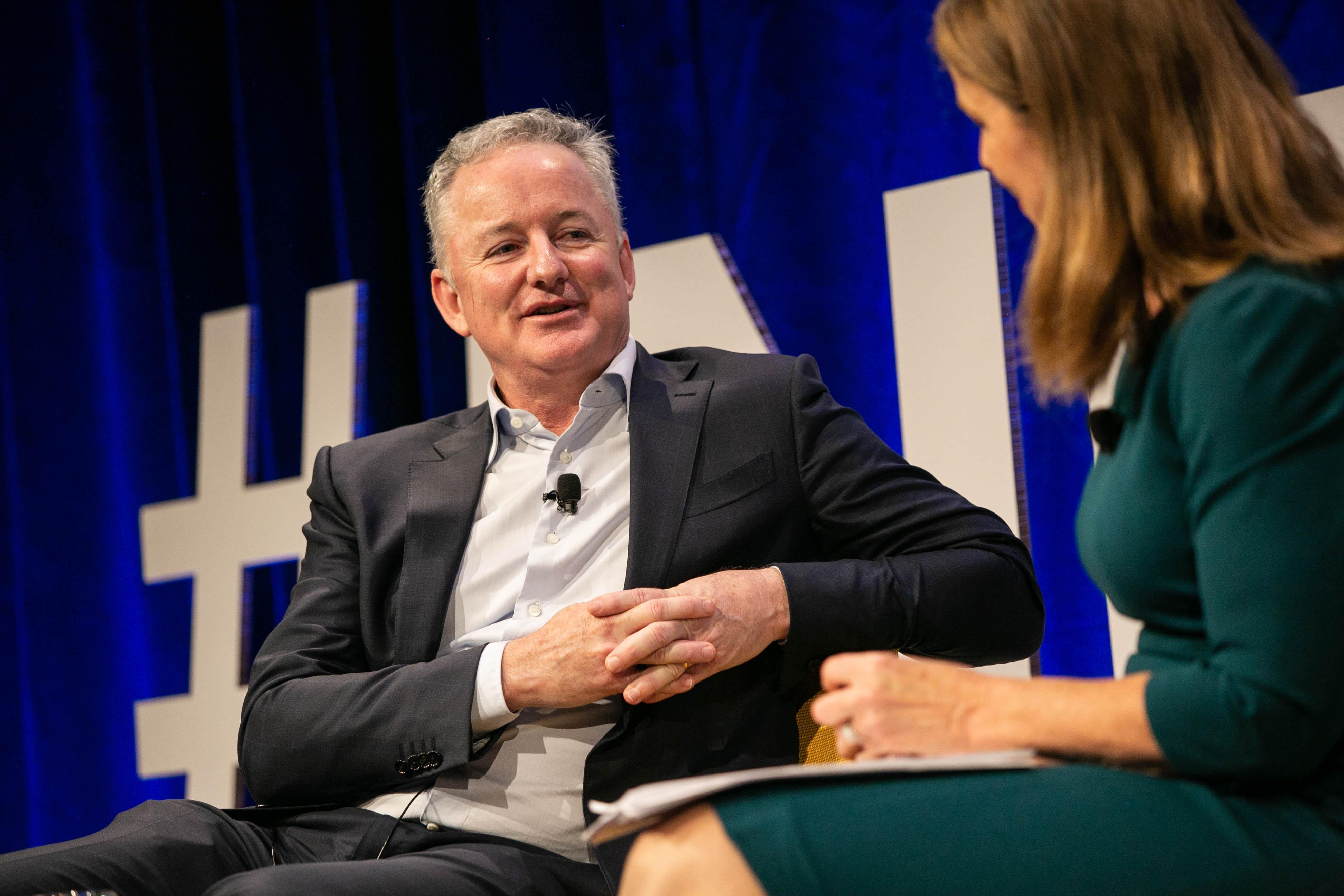 Nine CEO Hugh Marks at Inform Summit 4