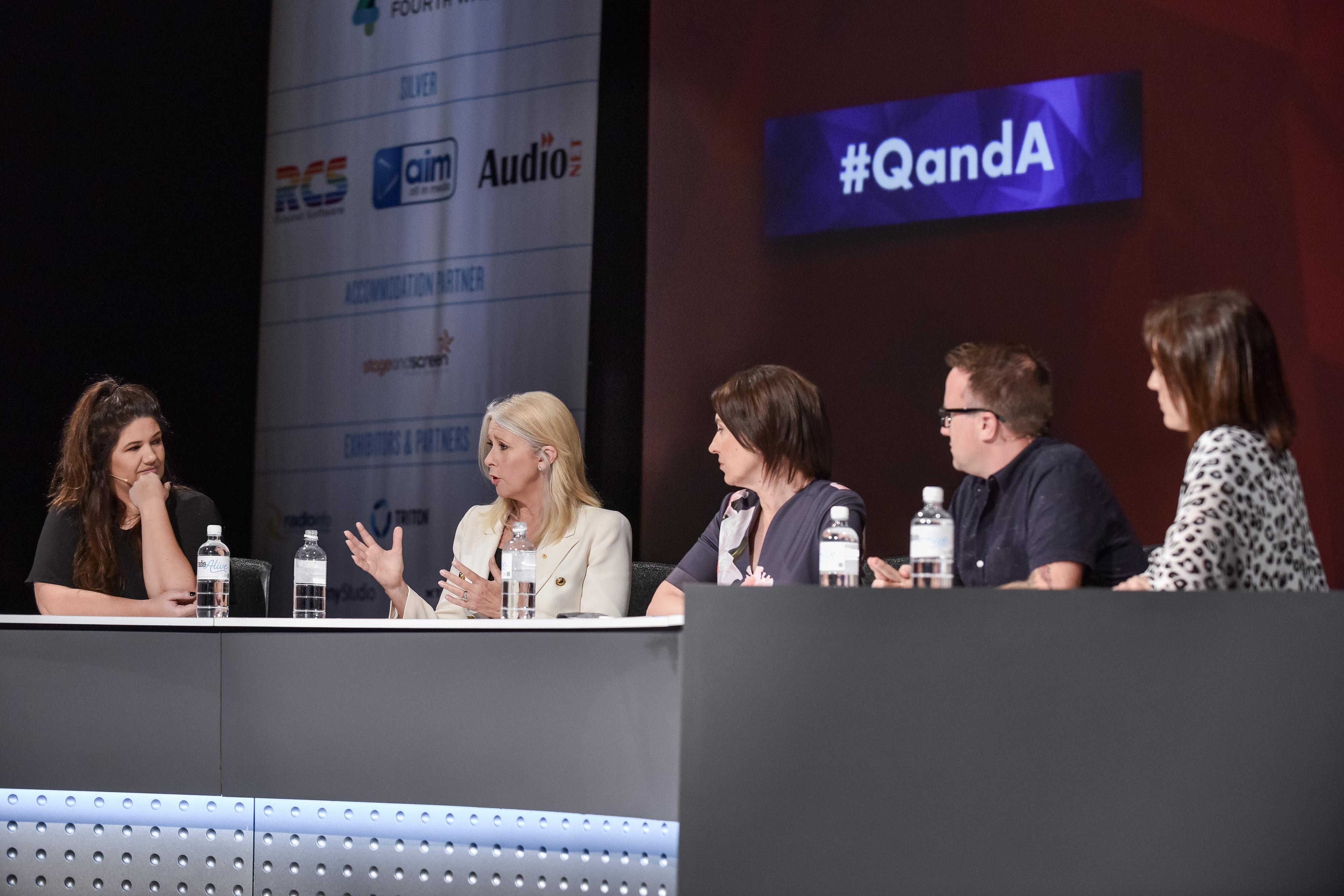 Q&A panel (Radio Alive 2018)