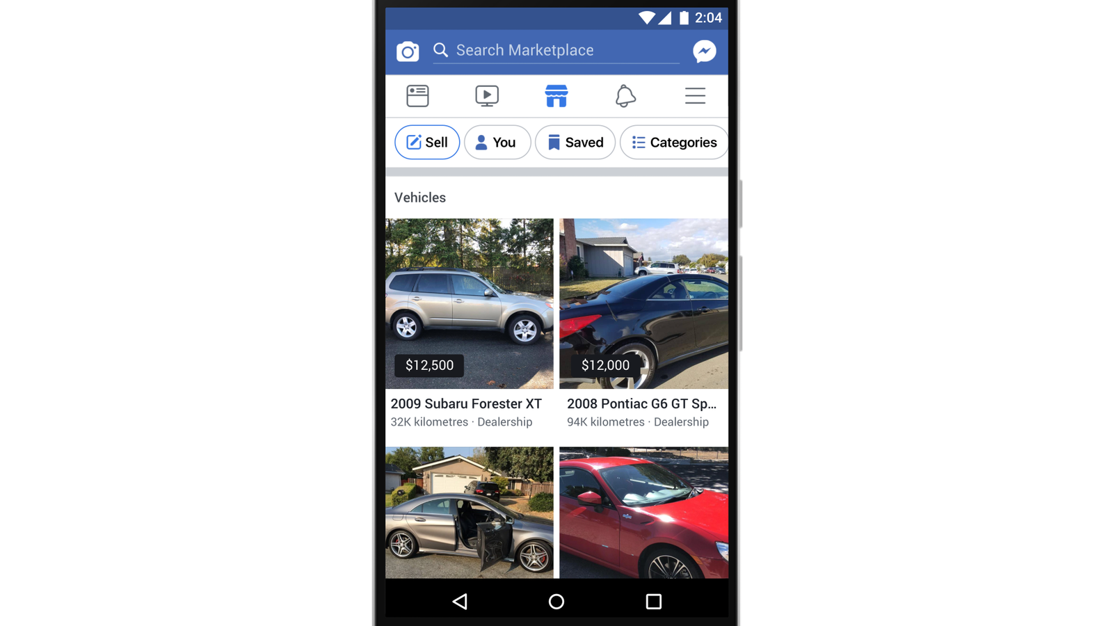 Used Cars Dealerships >> Facebook Bolsters Its Marketplace Offering With Expansion Of Vehicle Category - B&T