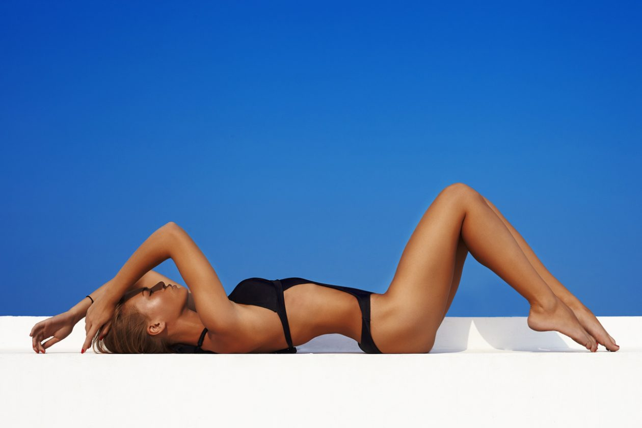 Загорелое женское тело фото — pic 8