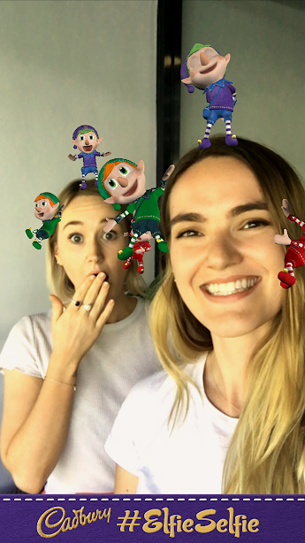 Cadbury's 'Elfie Selfie' campaign [2]