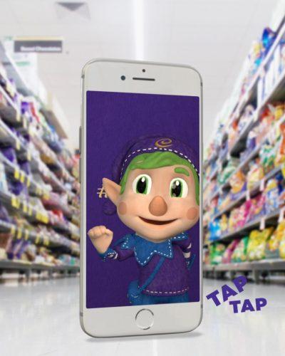 Cadbury's 'Elfie Selfie' campaign [3]