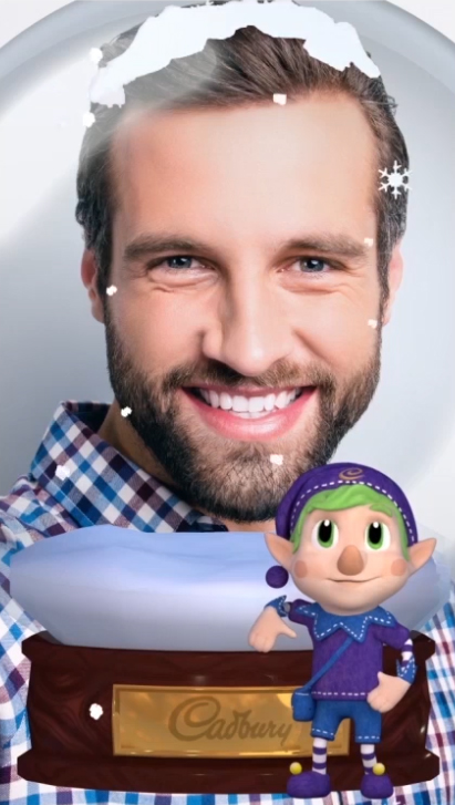 Cadbury's 'Elfie Selfie' campaign [4]