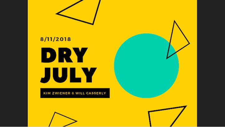 Dry July campaign (Will Casserly, Miami Ad School) [1]