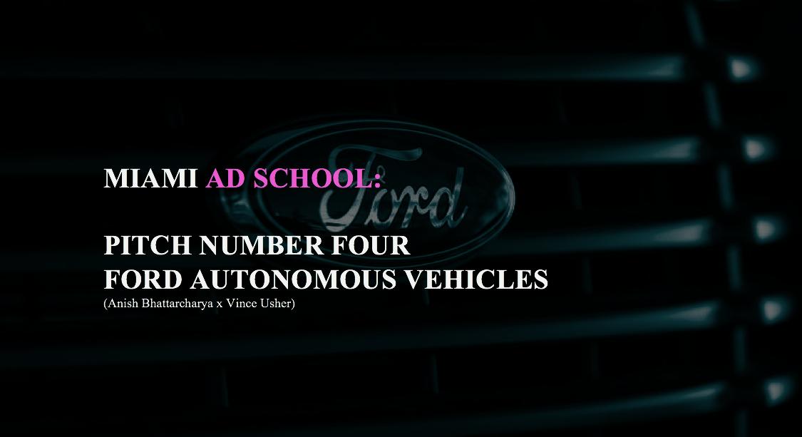 Ford campaign (Vince Usher, Miami Ad School) [1]