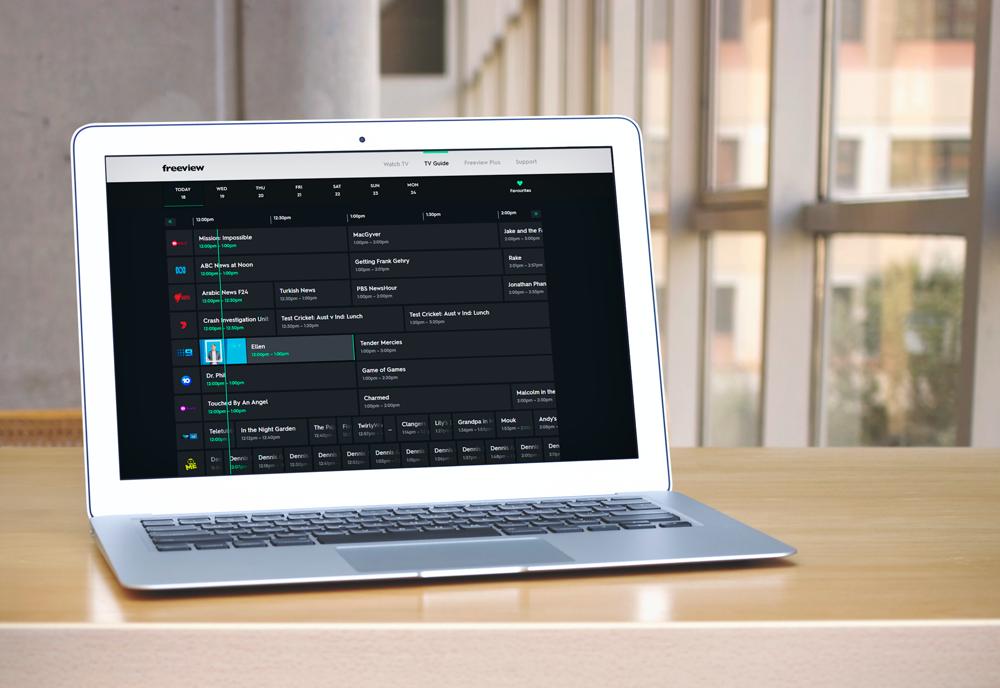 Freeview FV platform