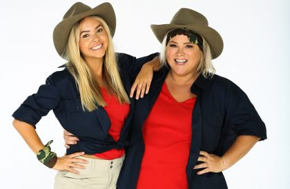 Angie Kent and Yvie Jones (I'm A Celebrity...Get Me Out Of Here!)