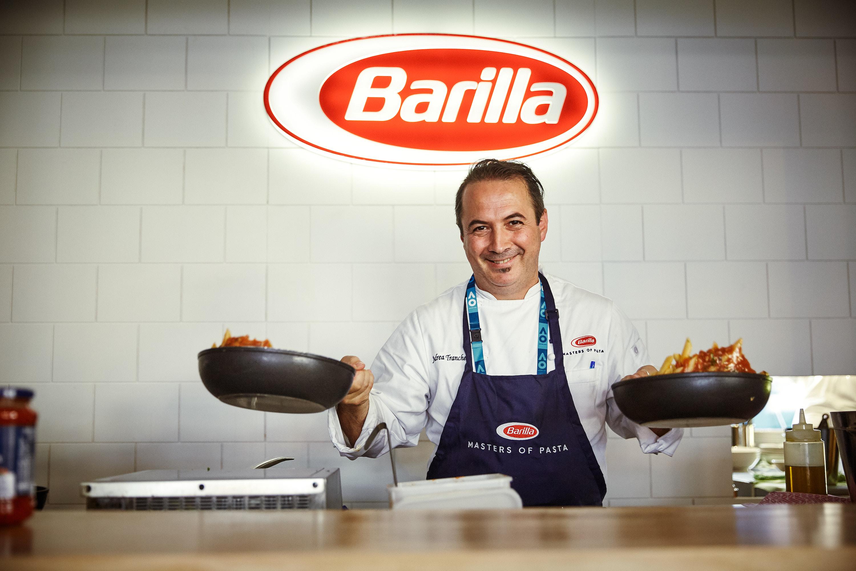 Barilla's 'Masters of Pasta' restaurant at the 2018 Australian Open [2]
