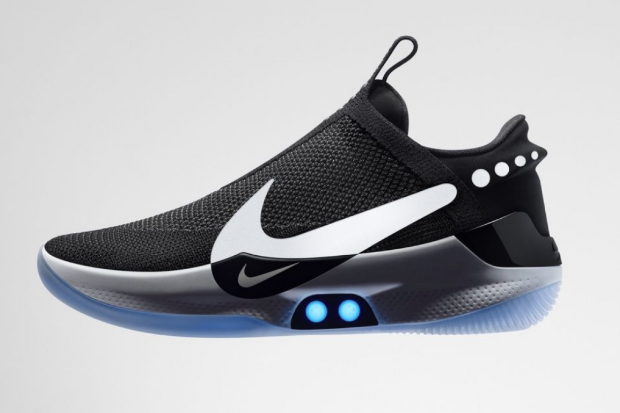 Nike Releases Futuristic Shoes That Lace Themselves Via An App Bt