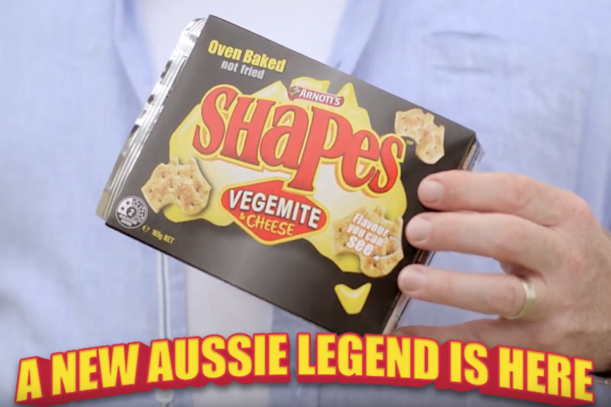 Arnott S Vegemite Bring Together Aussie Legends To Promote New