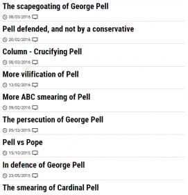 Herald Sun George Pell