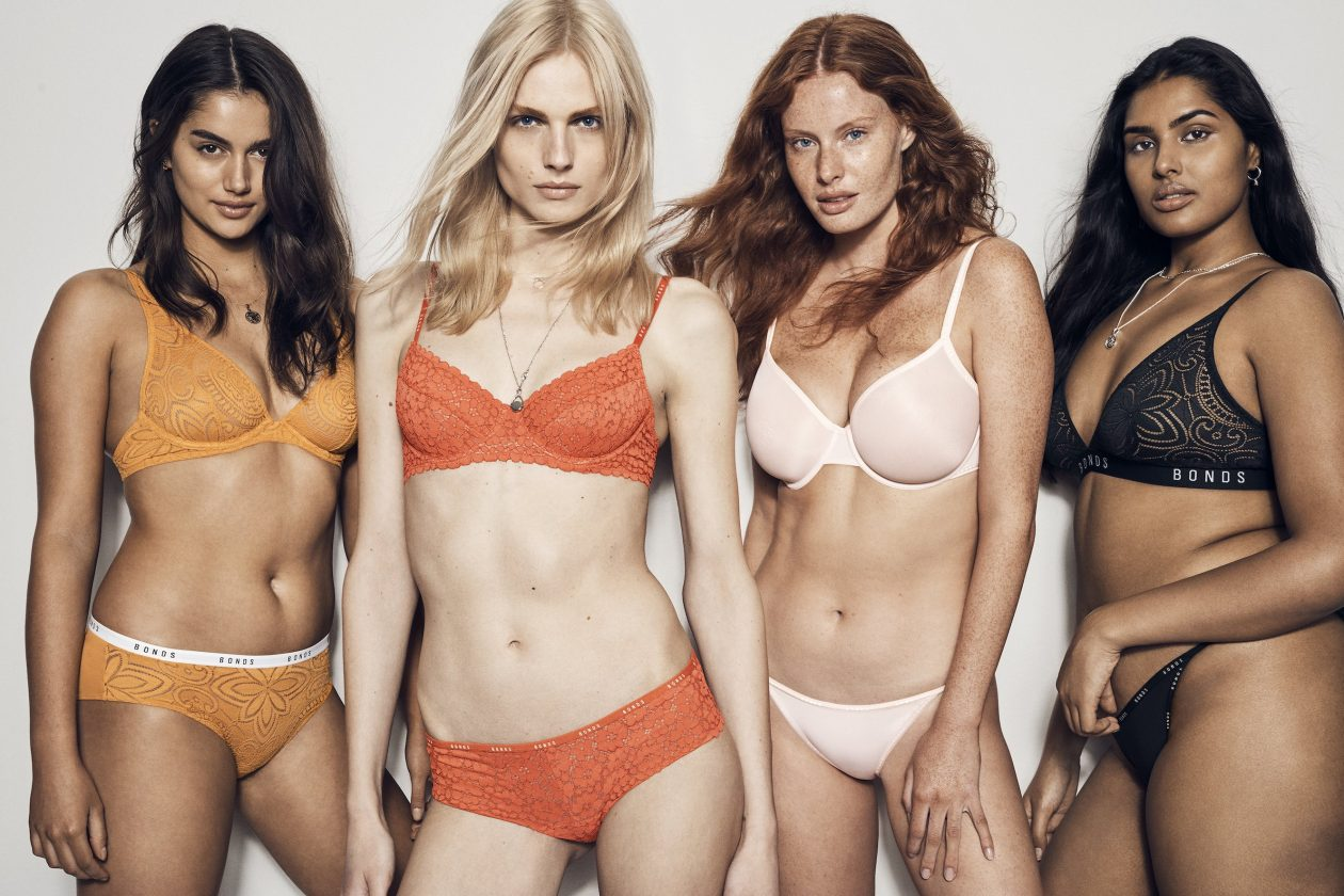 83ce71c691 Aussie Transgender Model Andreja Pejic Fronts BONDS New Intimately Campaign