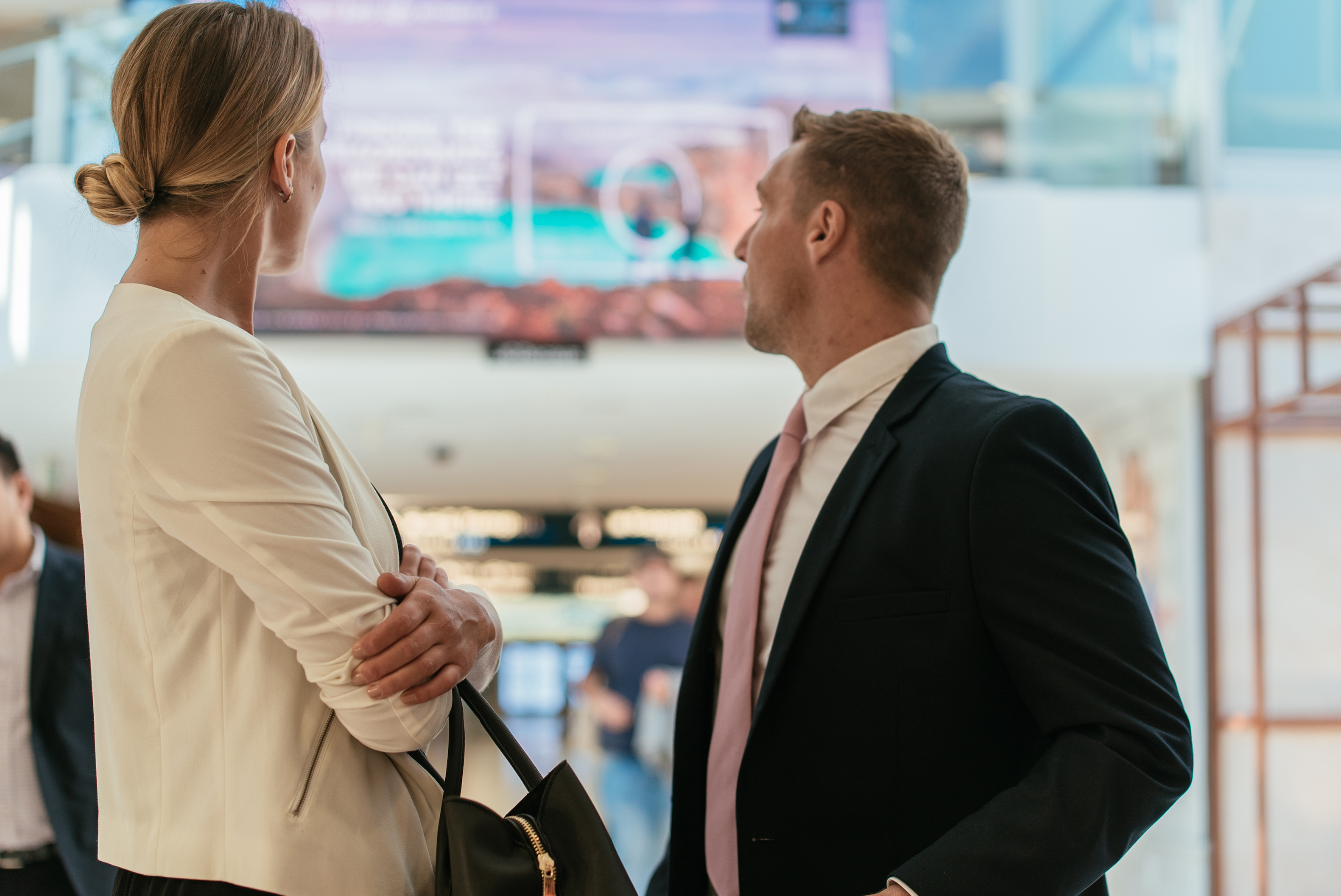 Study: 'Airports: Open for Business' Via JCDecaux