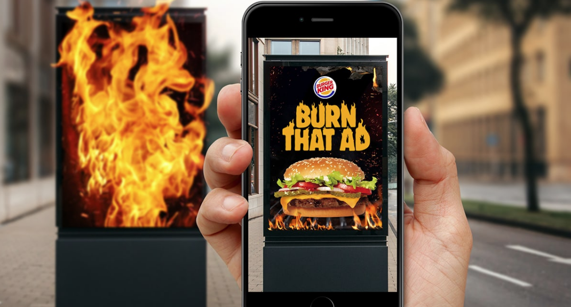 Burger King Utterly Roasts Competitors With New 'Burn That